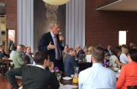 BVDG MV2016 04.07.2016 Köln Cafe Ludwig. Dr. Christoph Andreas berichtet über die Anhörung zum KGSG im Bundestag