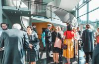 Symposium über den Kunstmarkt Finnland im KIASMA,