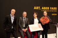 ART COLOGNE 2012. Audi Art Award for New Positions. Juergen Staack. Konrad Fischer Galerie. © Koelnmesse