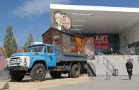 AC2012 Eingang Sued mit White Cube Gallery aus Novosibirsk. © Koelnmesse