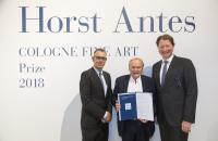 COFA2018 Preisverleihung ANTES_Joachim Sartorius © koelnmesse