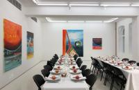 Dinner in der Galerie Helsinki Contemporary