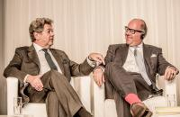 Kunstmarktkonferenz 29.11.2013. Konrad O. Bernheimer, Philip Hoffman (re)