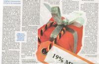 Kunstzeitung Dez. 2012. Artikel von Raue und Unververdorben