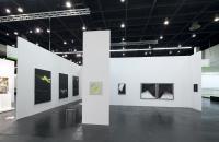 NEW POSITIONS auf der ART COLOGNE 2014. Foerderkoje von Andrew Beck bei Luis Campaña, Berlin © Koelnmesse
