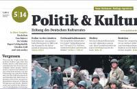 Politik & Kultur | Nr.5/14 Titelblatt-Ausschnitt