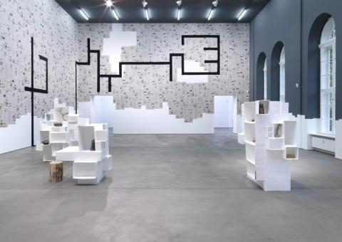 © Sprueth Magers Berlin. Andrea Zittel. Pattern of Habit. Installation view. 2011