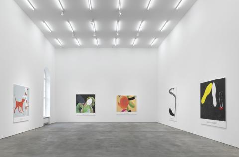Courtesy Sprueth Magers Berlin. John Baldessari. Double Feature. Installation view 2011