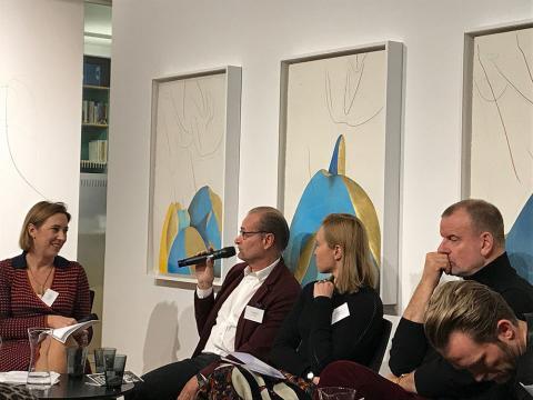 Timo Miettinen | Salon Dahlmann, Mari Männistö | Helsinki Contemporary Gallery, Volker Diehl | Galerist, Ville Kylätasku | Künstler
