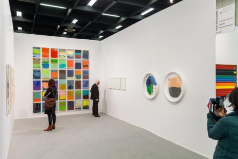 AC2017 Förderkoje Franziska Holstein. Galerie Friese © Marcus Hoffmann Koeln
