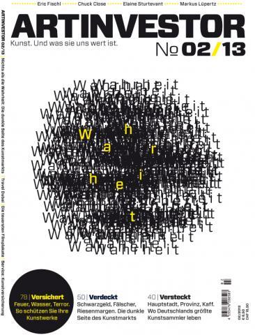 ARTINVESTOR 2/2013 Cover