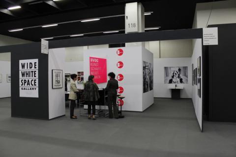 ZADIK-Sonderschau zur Wide White Space Gallery auf der ART COLOGNE 2012 und BVDG-Stand