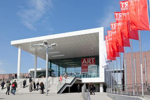 ART COLOGNE 2012 Eingang Sued © koelnmesse
