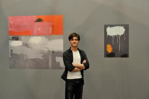 New Positions 2012: Audi Art Award an Juergen Staack, Galerie Konrad Fischer, Duesseldorf. Foto Claudia Ast