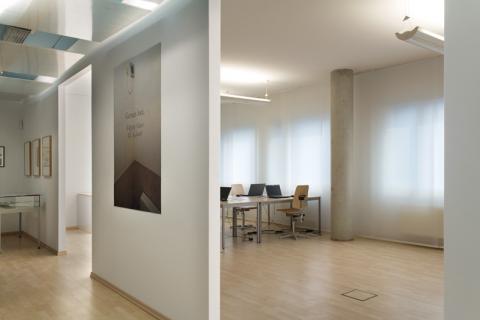 ZADIK Ausstellungsraum und Lesesaal. Foto: Markus Hoffmann, Köln