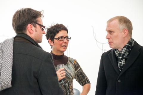 BVDG Im Dialog. Köln, 20.11.2013. Mirko Mayer, Sylvia Rehbein, Dan Hug