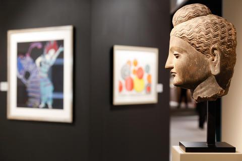 Cologne Fine Art 2012 | Michael Woerner | Foto: Koelnmesse