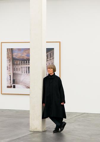 Candida Höfer ist Preisträgerin des COLOGNE FINE ART-Preises 2015. Foto: Koelnmesse