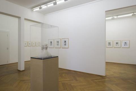 Courtesy Galerie Klüser Muenchen. Ausstellungsinstallation 2009. Foto: Mario Gastinger