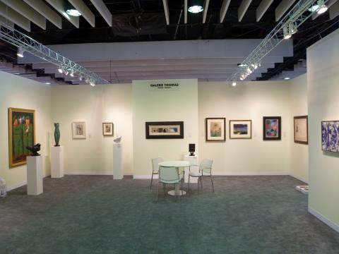 Courtesy Galerie Thomas. Armory Show NY 2011