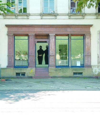 Courtesy Knecht und Burster Karlsruhe. Außenansicht. Foto Renate Koch. 2011