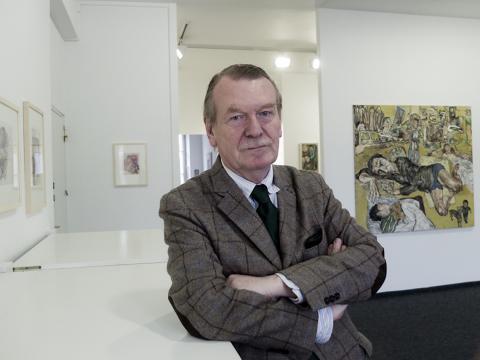 Fred Jahn, Mai 2012. Foto: Ursula Zeidler, Taubenbach