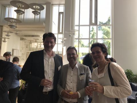 Empfang in der Residenz der deutschen Botschaft in Finnland