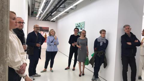 Treffen der Freude der Berlinischen Galerie bei Helsinki Contemporary