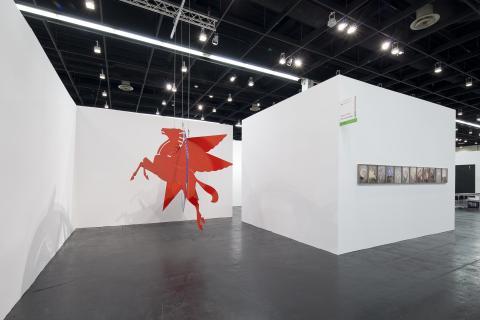 NEW POSITIONS auf der ART COLOGNE 2014. Rayyane Tabet bei der Galerie Sfeir-Semler, Hamburg-Beirut © Koelnmesse