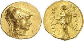 Seleukos II. 246-226 v. Chr. Courtesy Ulrich Künker, Osnabrück