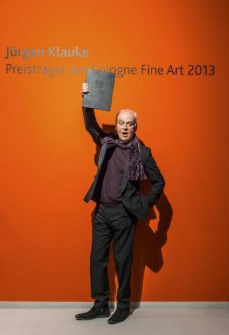 Cologne Fine Art-Preis 2013. Jürgen Klauke. Foto koelnmesse