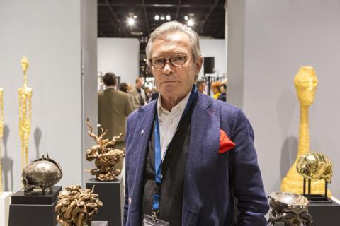Cologne Fine Art-Preisträger 2017 Georg Hornemann. Foto koelnmesse