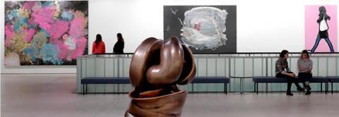 Abbildung © Ari Karttunen | EMMA | Kosketus | Ausstellung der Kunstsammlung Stiftung Saastamoinen, Agora, EMMA - Espoo Museum of Modern Art | Ausschnitt