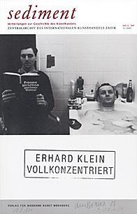 sediment 13. Buchcover Verlag fuer moderne Kunst Nuernberg