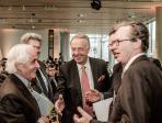 Kunstmarktkonferenz 29.11.2013. Bernd Neumann MdB mit Peter Raue und Klaus Gerrit Friese