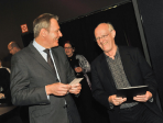 Cologne Fine Art-Preis 2012. Preistraeger Tony Cragg und Gerald Böse. Foto koelnmesse