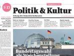 Politik & Kultur 5|2013 Titelblatt Ausschnitt